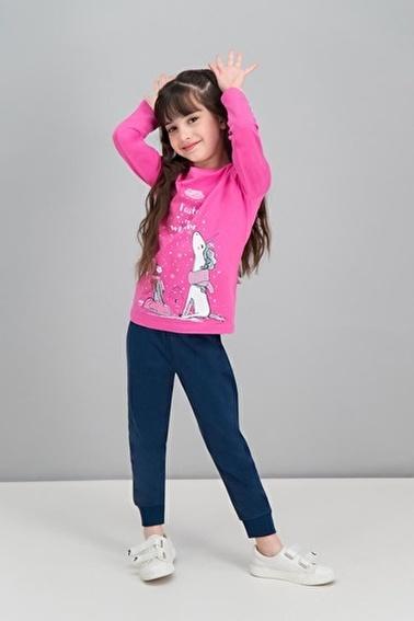 Roly Poly Rolypoly  Pudra Kız Çocuk Pijama Takımı Pembe